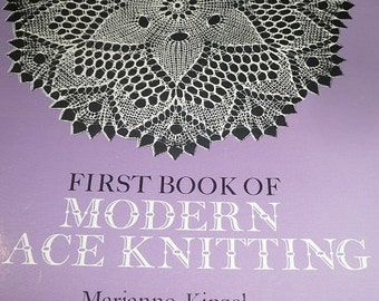 Vintage First Book Of Modern Lace Knitting