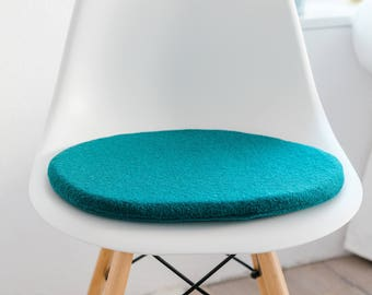Chair Cushion In Petrol, Suitable For Eames Chair, Limited