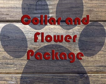 Collar and Flower Package