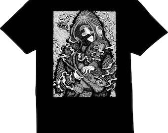 The Traveler Screen Printed Men's T-Shirt