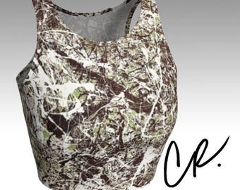 CR What Lies Within Athletic Crop Top