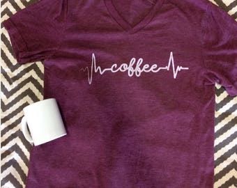 Coffee Lifeline Tee