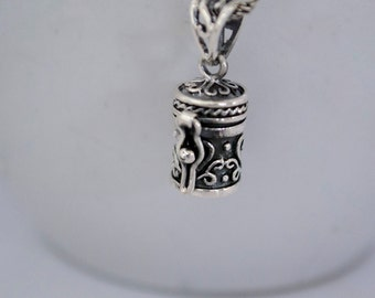 Sterling Silver Keepsake Necklace