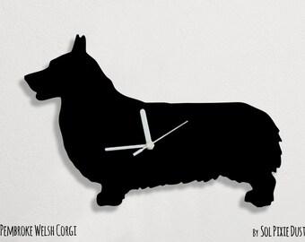Pembroke Welsh Corgi Dog - Wall Clock