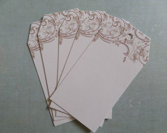 Set of 5 American form with flowers