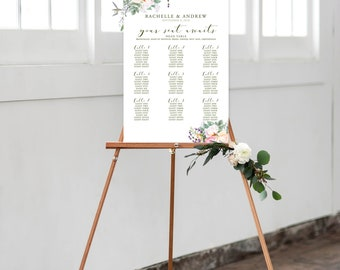 Seating Chart - Country Charm (Style 13759)