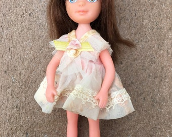 Vintage 1967 Uneeda Tiny Teen Teens Doll: PARTY TIME