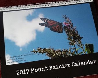 Mount Rainier 2017 Calendar