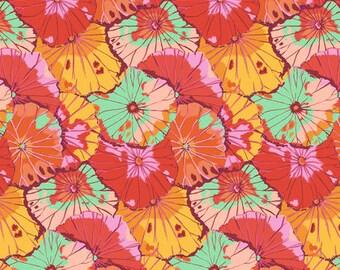 PREORDER - Kaffe Fassett - Spring 2018 - Lotus Leaf - Citrus - (PWGP029.CITRU) - 1/2 Yard++