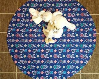 Dreamcatcher print round playmat, floor rug, tummy time, play mat, round play mat, 100cm round, playmate, baby shower, baby gift,