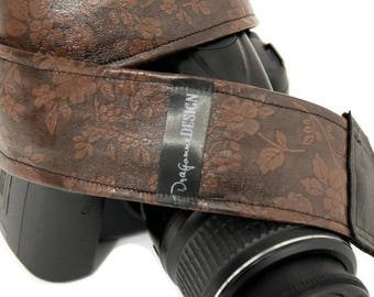 Stylish Camera Strap - Customized Strap for Nikon, Canon, etc. -  Ideal woman gift - Photographer shoulder strap