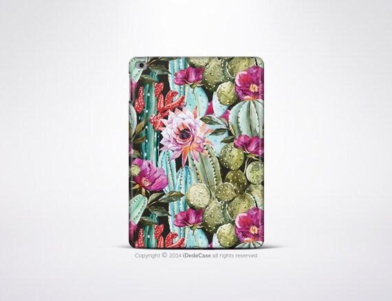 iPad Mini 4 Case Cactus Rubber iPad mini 4 Case Cactus iPad 3 Case iPad Air 2 Case
