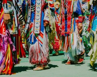 Native American Pow Wow I, Native American, tradition, colorful