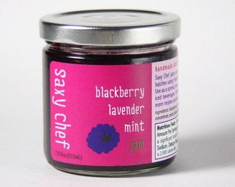 Blackberry Lavender & Mint Jam 7.75 oz Jar