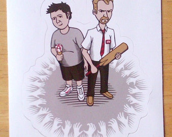 Strawberry Cornetto Sticker