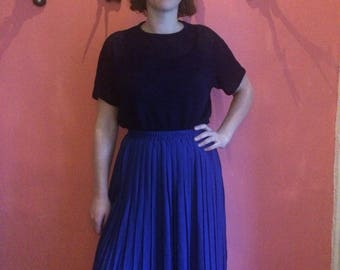 Vintage 50 's blue skirt