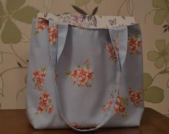 Handmade canvas tote bag