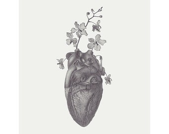 """9"""" x 12' Limited Edition Giclee Print of Original Illustration of """"Grace"""""""