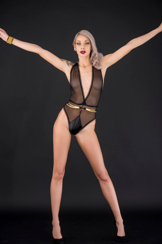 Sedna Mesh body suit.