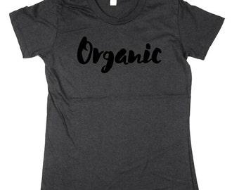 Organic T-shirt - nature shirt, mom outdoors t-shirt, mom gift idea organic cotton Shirt, womens, Small, Medium, Large, XL, 2XL