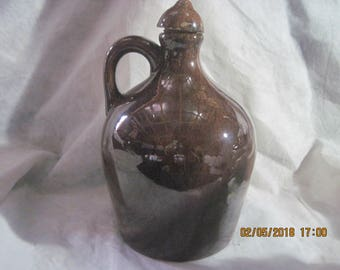 Sprague  Stoneware Musical Whiskey Jug (How Dry I Am Song)