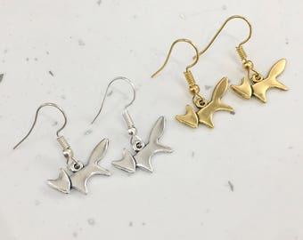 Cute Fox Hook/Dangly Earrings