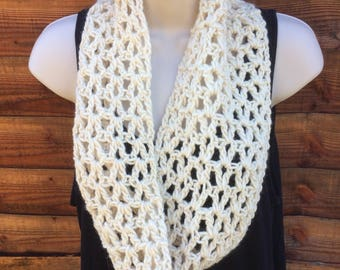 Merino and Mohair Infinty Scarf