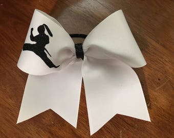 Karate girls bow - Karate gift - Karate girl - Karate bow - TKD bow - TKD gift