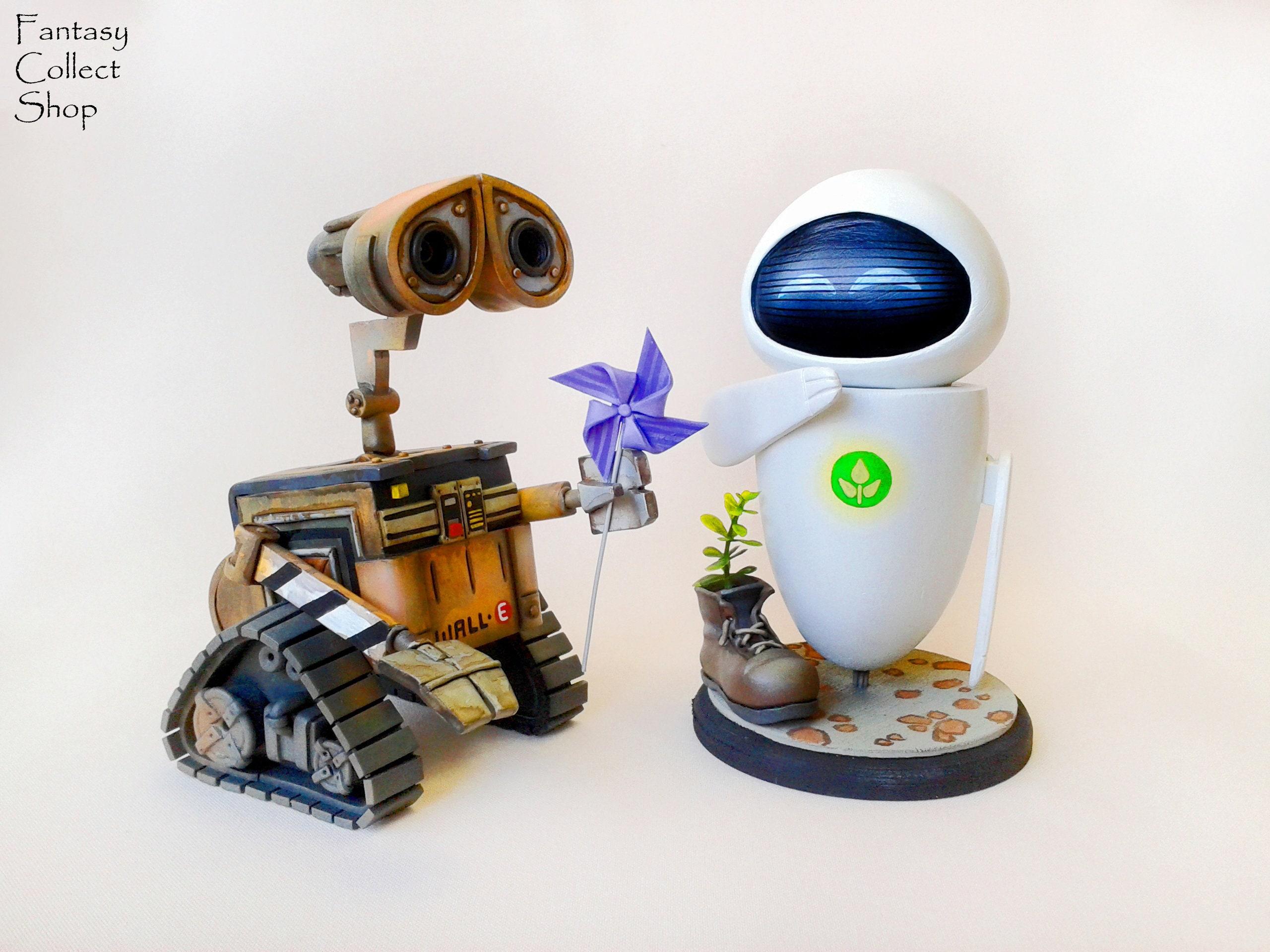 Roboter Wall-E Figur Eva Eve Figur Walle Wallie Wall-E Cartoon