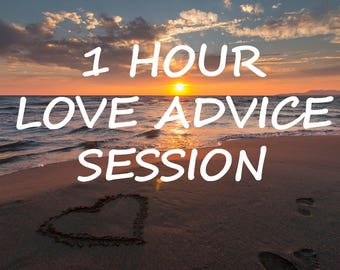 1 Hour Love Advice Session
