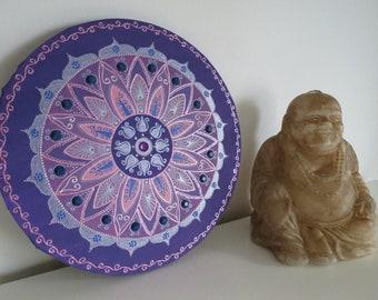 Mandala, Acrylic on canvas, 30cm