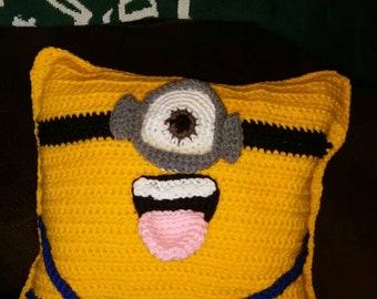 Crochet Minion pillow