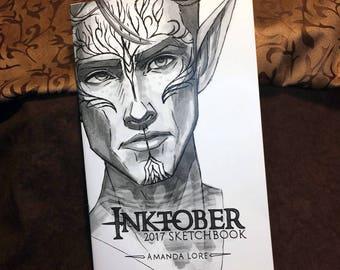 Thedas Inktober 2017 Sketchbook