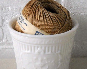 White Milk Glass Vase Flower Vase Garden Planter Vintage Vase Home Decor