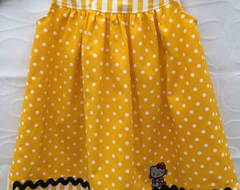 Toddlers summer dress size 12-18 months, toddlers sun dress, toddlers beach dress, baby summer dress,