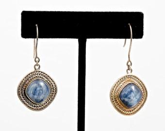Kyanite 234 - Earrings - Sterling Silver & Kyanite