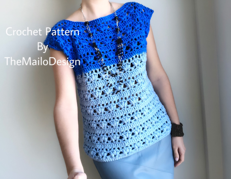 Crochet Top Pattern/ Crochet Top / Crochet for Women / Crochet ...
