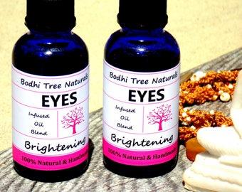 Eye Brigthening Serum with Organic Herbs & Natural Oils /Oil Blend / Eye Serum / Eye oil - 100% Vegan - Natural Handmade Skin Care