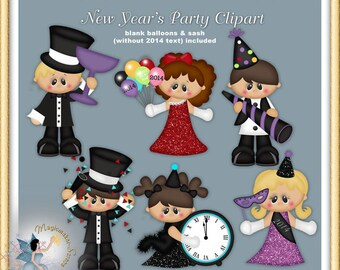 New Year's Party Clipart