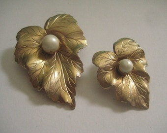 SARAH COVENTRY 70s Chit Chat Duo Leaves Pins
