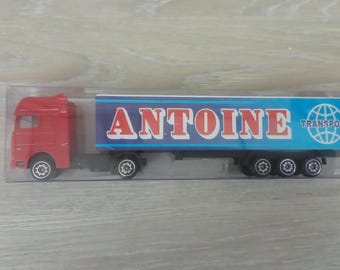Truck personalized name of Anthony toy