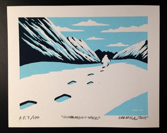 "Yeti Screen Print Limited-Edition ""Himalayan Trek"""