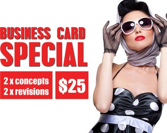 Custom Business Card Design Deal