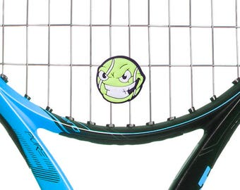 Raging Ball Head Tennis Vibration Dampener 2-Pack by Racket Expressions
