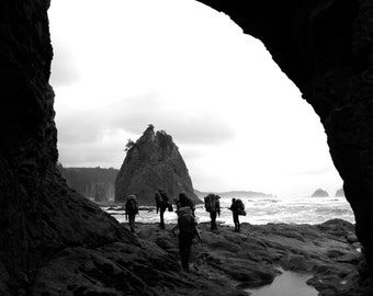 Coastal Hiking, Washington NOLS - 35mm Film Photography Print