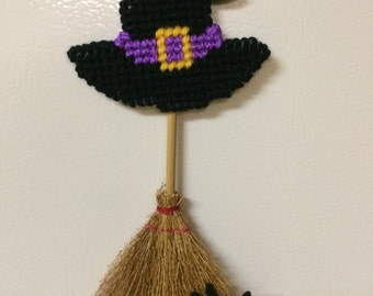 Witch Broom Halloween Magnet Halloween Party Favors Halloween Trick or Treat Ornament