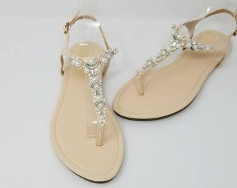Bridal sandals | Etsy