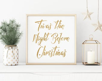 Twas The Night Before XMas/Digital Download/Beautiful!