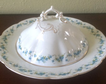 Vintage Carlsbad Covered Butter Dish