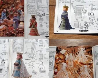 1995 Magic Crochet book No.99 More Creche Figures THREE KINGS